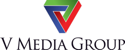 V Media Group Logo